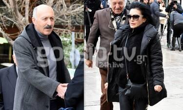 Κηδεία Κώστα Βουτσά: Ορκόπουλος και Φιλίνη αποχαιρετούν τον φίλο τους. Τι είπαν στο gossip-tv.gr