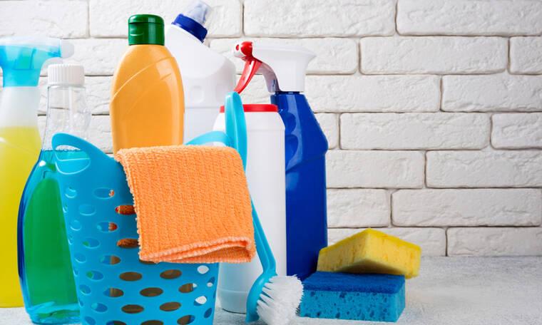 Καθαριστικά προϊόντα για το σπίτι: Οι κίνδυνοι για την υγεία των παιδιών