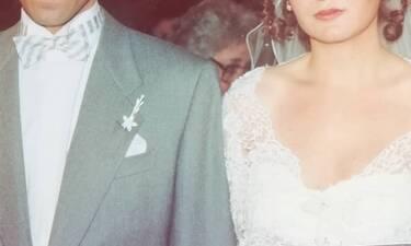 Ανέκδοτη φωτογραφία πασίγνωστων Ελλήνων ηθοποιών από τον γάμο τους πριν από 26 χρόνια! (photos)