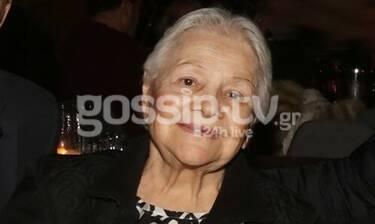 Σπάνια βραδινή έξοδος για τη Μαίρη Λίντα - Διασκέδασε στον Τόλη Βοσκόπουλο! (Photos)