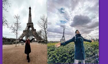 Σίσσυ Χρηστίδου: Εσύ είδες τις φώτο από το ταξίδι της στο Παρίσι με τα παιδιά και τον... Μαραντίνη;