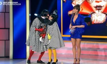 My Style Rocks Gala: Το φιλί της Τόνιας Κούμπα στο αμόρε της και η απίστευτη ατάκα της Στικούδη!