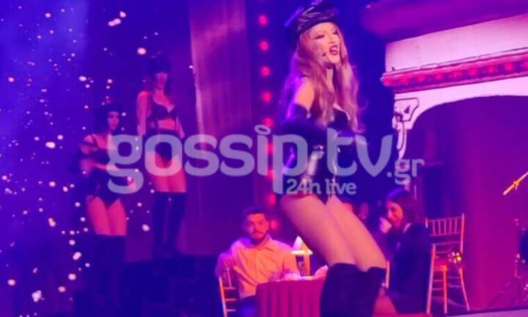 YFSF: Άναψε φωτιές η Τάνια Μπρεάζου ως Christina Aguilera (Video-Photos)