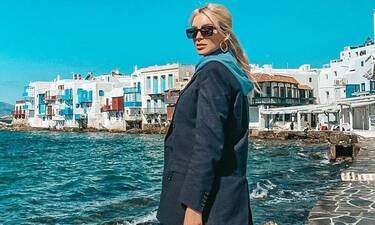 Κατερίνα Καινούργιου: Τριήμερο στη Μύκονο με look που θα ζηλέψεις! Δες τι φόρεσε στο νησί (Photos)