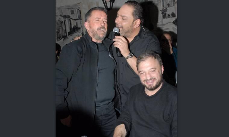 Τα 'σπασαν Φερεντίνος και Παπαδόπουλος σε έξοδό τους! Πού τους εντοπίσαμε να διασκεδάζουν; (photos)