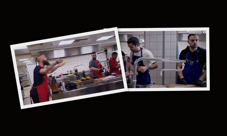 MasterChef: Η σπρωξιά, ο τραυματισμός και η «αλήθεια» της κάμερας - Ένταση στην κουζίνα (Pics-Vid)