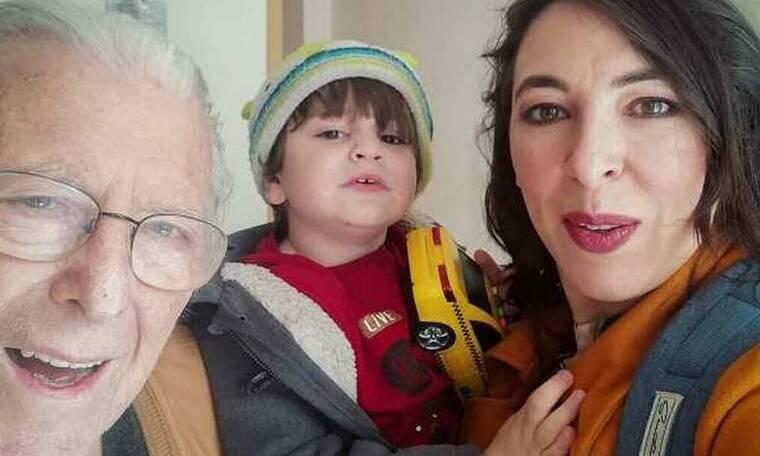 Ραγίζει καρδιές η Αλίκη Κατσαβού - Η τελευταία αγκαλιά του Κώστα Βουτσά στον μικρό Φοίβο (Photos)
