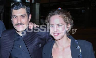 H Έλλη Τρίγγου πήγε να δει στο θέατρο τον πρώην της Αργύρη Πανταζάρα! (photos)