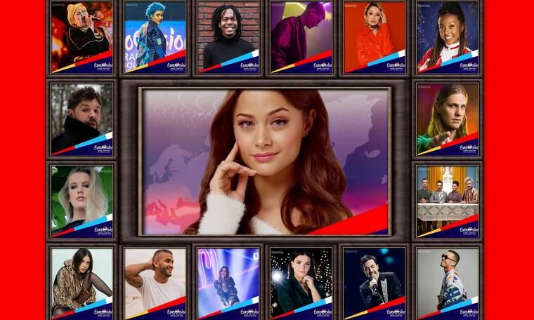 Eurovision 2020: Αυτοί είναι οι «αντίπαλοί» μας στον ευρωπαϊκό διαγωνισμό! (video+photos)