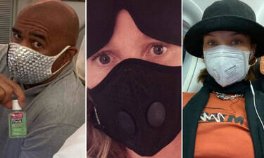 Μπορείς να αναγνωρίσεις τους διάσημους πίσω από την μάσκα του κοροναϊού;