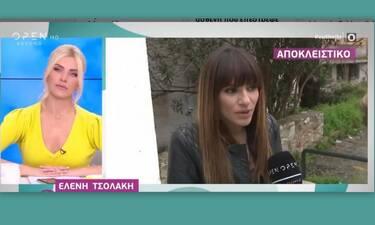 Ελένη Τσολάκη: Η ατάκα της για τις κόντρες της Τσιμτσιλή με τον Βερύκιο! (Video)