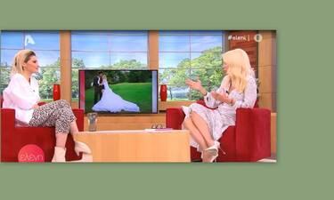 Νίκη Κάρτσωνα: Έμεινε άφωνη η Μενεγάκη με την τρυφερή εξομολόγηση on air για τον σύζυγό της!