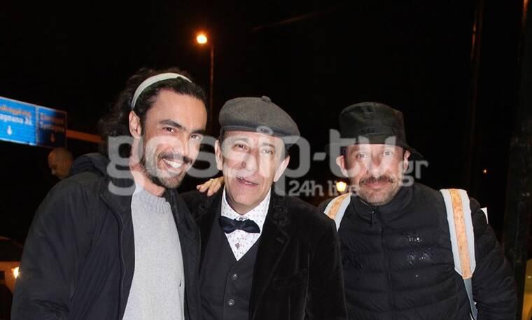 Κι όμως ο Γιώργος Πυρπασόπουλος πήγε στον κινηματογράφο με το πιο εναλλακτικό μεταφορικό μέσο (pics)