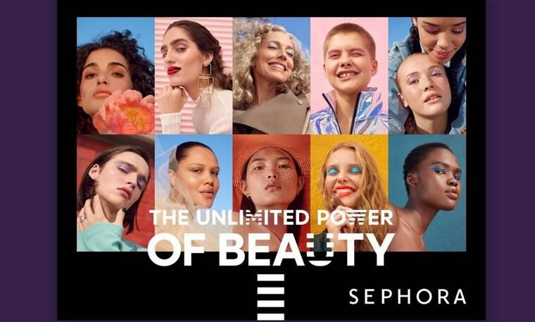 Η SEPHORA και η BETC αποκαλύπτουν την ταινία The Unlimited Power of Beauty