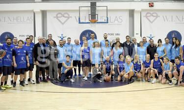 W.I.N. Hellas: Οι celebrities έπαιξαν basket για καλό σκοπό (photos-video)