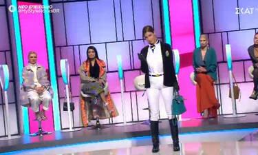 My Style Rocks: Μαλλιά κουβάρια η νέα παίκτρια με τη Ζάνα για μία τσάντα! (video)