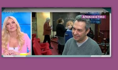 Χατζηπαναγιώτης για Παναγιωτοπούλου: «Δεν ξέρω την πρόθεση της...» (Video)