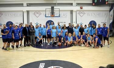 PLAY 2 W.I.N.: Αθλητές και celebrities σε έναν αγώνα μπάσκετ για καλό σκοπό με την υποστήριξη του