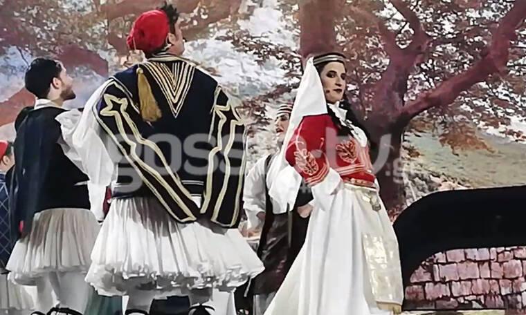 YFSF: Ένα βλάχικο γλέντι στο stage  – Η Δανάη Λουκάκη σε ρόλο τσελιγκοπούλας κι ο guest τσέλιγκας