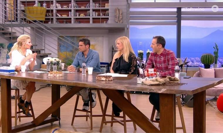 Το Πρωινό: Απίστευτος καβγάς  on air για την… Χριστίνα Μπόμπα! (Video & Photos)