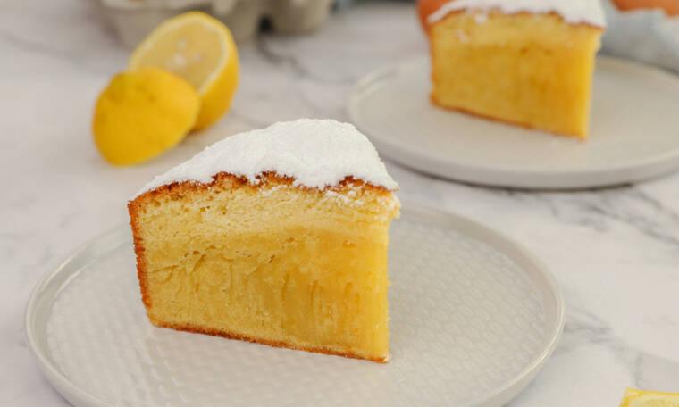 Ιταλικό κέικ (Torta paradisο)