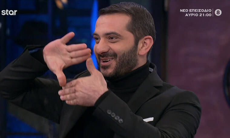 MasterChef: Επικό! Ο Λεωνίδας Κουτσόπουλος τραγουδά Ρουβά στο πλατό και τα «σπάει» (photos-video)
