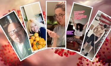 Κορονοϊός: Οι δημιουργικές στιγμές των celebrities σπίτι! Δείτε πώς περνούν την ώρα τους (pics+vid)
