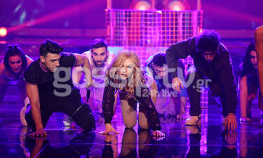 YFSF: Σούπερ σέξι η Ευρυδίκη ως Madonna