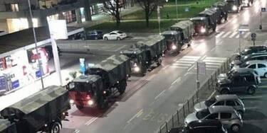 Κορονοϊός: Εικόνα σοκ από την Ιταλία - Στρατιωτικό κομβόι μεταφέρει τα πτώματα (Video)