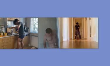 Μένουμε σπίτι: Το ημερολόγιο καραντίνας του Παπακαλιάτη – Δες καρέ καρέ τι κάνει κάθε μέρα