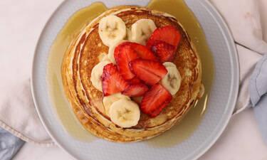 Vegan pancakes από τον Γιώργο Τσούλη