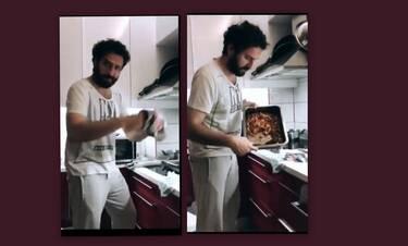 Μελέτης Ηλίας: Δες τι μαγείρεψε για την οικογένειά του και θα ξετρελαθείς με τη συνταγή του!