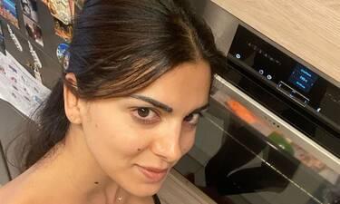 Μένουμε σπίτι: Η Σταματίνα το ΣΚ έμεινε σπίτι και δες τι μαγείρεψε στα παιδιά της! (Photos)