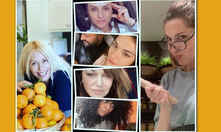 Ο κορονοϊός λέει... no make up! Οι διάσημες κύριες ποζάρουν δίχως ίχνος μακιγιάζ στο σπίτι! (photos)