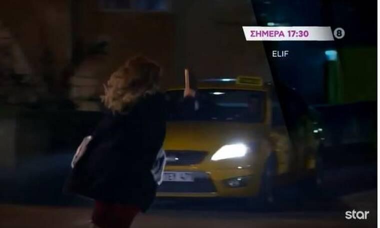 Elif: Ο Σελίμ σώζει μια κοπέλα με το ταξί (Photos & Video)