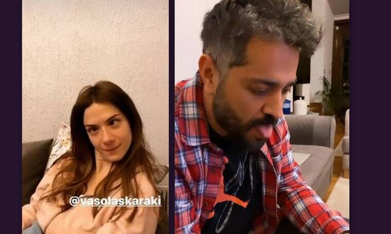 Επικό! Λασκαράκη-Σουλτάτος τρολάρονται στο Instagram και τα videos είναι απολαυστικά