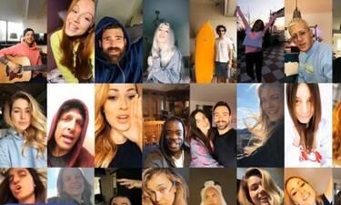Έλληνες celebrities και influencers σε καραντίνα τραγουδούν για τον Ηλία Μπόγδανο και τους INCO!