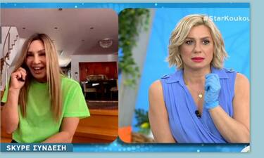 Η γκάφα της Καραβάτου on air : «Θα βάλω το κεφάλι μου μέσα σε ένα κουβά μετά από αυτό»