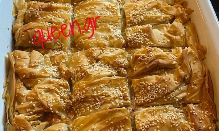 Τυρόπιτα πεντανόστιμη (Γράφει αποκλειστικά στο Queen.gr η Majenco)