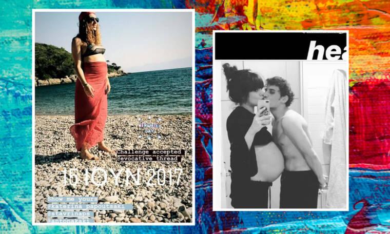 Κοιλίτσα challenge: Διάσημες Ελληνίδες αποδέχτηκαν την πρόκληση & δημοσίευσαν φώτο εγκυμοσύνης τους