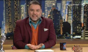 The 2Night Show: OΓρηγόρης Αρναούτογλουεπιστρέφει live!