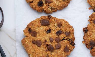 Μπισκότα με φυστικοβούτυρο και βρώμη χωρίς ζάχαρη, ιδανικά για παιδιά και δίαιτα