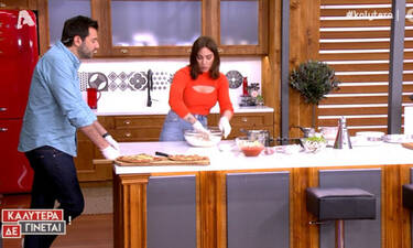 Ευρυδίκη Βαλαβάνη: Σκέφτεσαι να φτιάξεις σπιτική πίτσα το βράδυ; Δες τη συνταγή της βήμα – βήμα