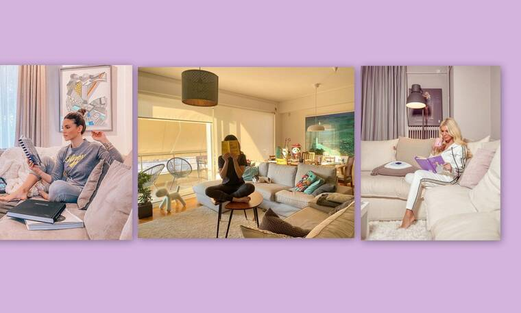 Οι επώνυμοι μένουν σπίτι και αυτές είναι οι πιο ωραίες ιδέες διακόσμησης που είδαμε! (Photos)