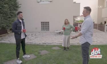 DOT: Ο Τσαλίκης είναι γείτονας με τη Ζαμπέτογλου και έκαναν εκπομπή στον κήπο της παρουσιάστριας!