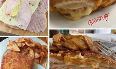 Το απόλυτο Σνίτσελ Χόφμαν με τηγανητές πατάτες (Γράφει αποκλειστικά στο Queen.gr η Majenco)