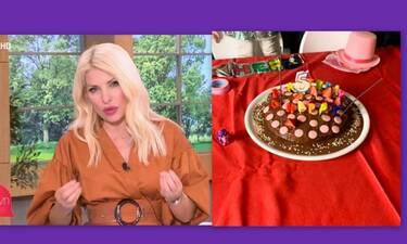 Ελένη Μενεγάκη: Αυτή είναι η πρώτη τούρτα που έφτιαξε και αποκάλυψε τη συνταγή!