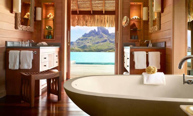 17 πολυτελή μπάνια ξενοδοχείων από όλο τον κόσμο (pics)