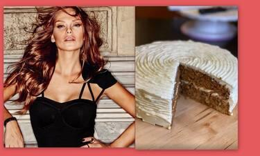 Υβόννη Μπόσνιακ: Έφτιαξε κέικ καρότου και μας αποτελείωσε! Εσύ ακόμα κάθεσαι; (Video & Photos)