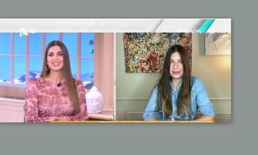 Κατερίνα Μουτσάτσου: Η αποκάλυψη on air: «Κολλήσαμε και οι τρεις στην οικογένεια κορονοϊό»